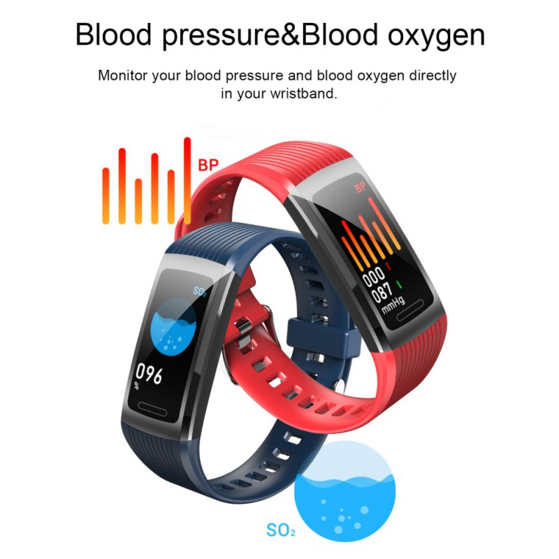 R10 Smart Bluetooth Wrist Watch for Android IOS Fashion Bracelet for Women / Men Heart Rate Step Blood Pressure Blood Detection