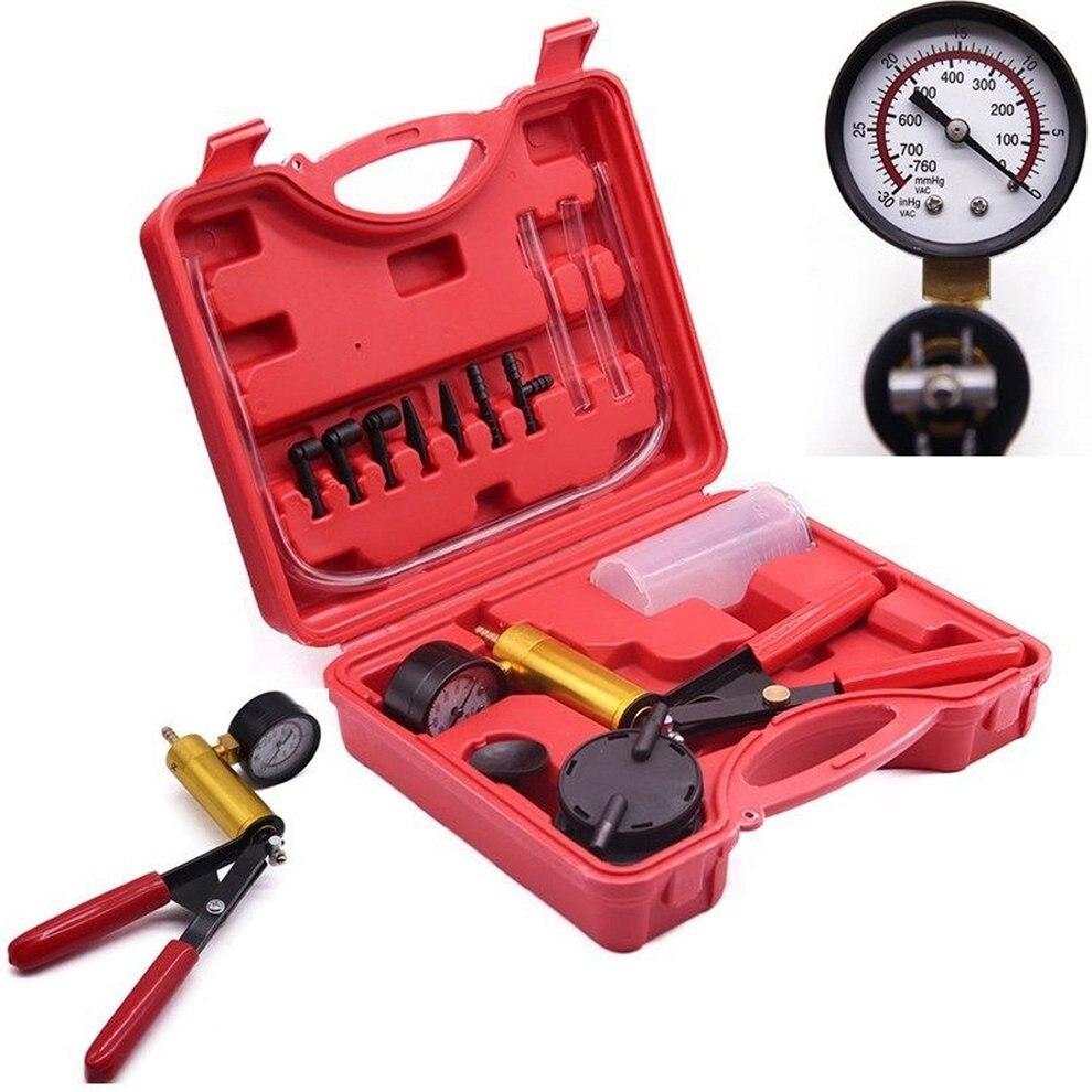 2 en 1 automóvil multifuncional Manual bomba de vacío pistola herramienta de reparación coche de mano herramientas de desmontaje accesorios de coche