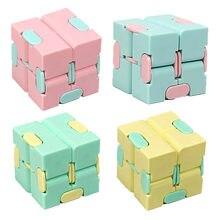 Infinito cubo mini brinquedo dedo edc ansiedade stress alívio cubo blocos crianças crianças brinquedos engraçados melhor presente brinquedos para crianças