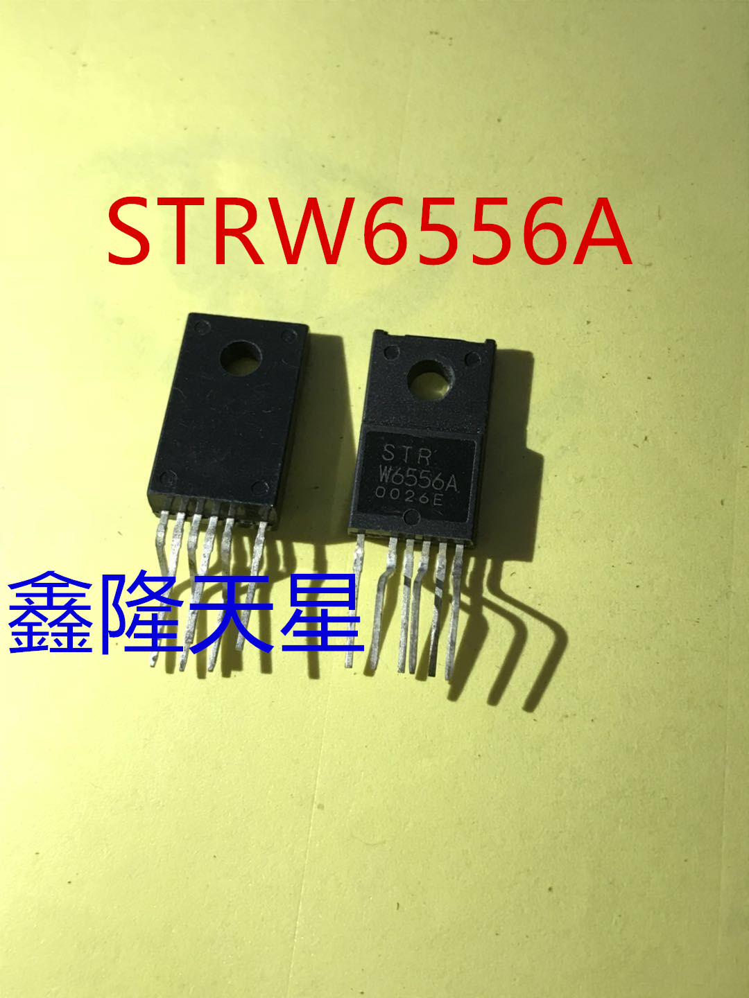 2PCS -1lot STR-W6556A LCD power tube can be used as soon as it is changed, can be straight shot STRW6556A 6556A ZIP6 image
