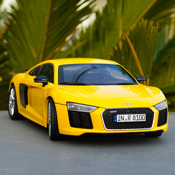 Original Authorized Authentic 1/18 Scale Audi R8 V10 plus NEW R8 Diecast Car Model for birthday/christmas gift,collection image