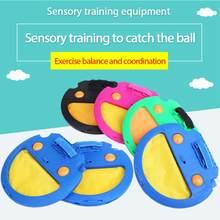 Treinamento de esportes das crianças mão captura bola pai-filho brinquedo interativo coordenação capacidade esportes pegar o brinquedo bola esportes