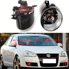 MZORANGE Fog light For Volkswagen For VW Sagitar Jetta 5 Golf 5 GTI MK5 Fog lamps Front Bumper Driving Fog Light Lens