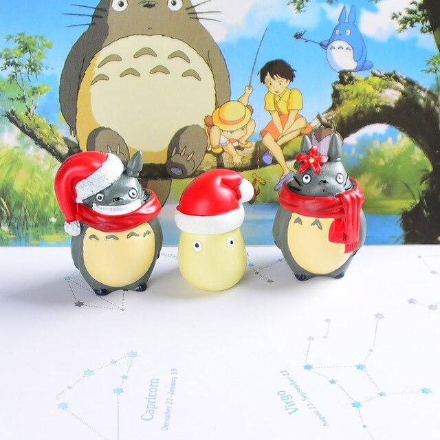 Аниме фигурки Тоторо Рождество 3
