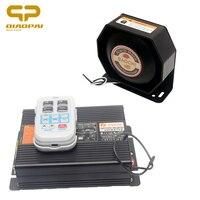 Wireless Contral Alarm Police Siren Megaphone loud Speaker 200W Multi tone 12V Horn Car Horn Loudspeaker Sound PA MIC System