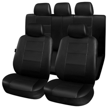 PU Leather Car Seat Cover Universal Accessories Fit for Most Cars with Tire Track Detail Car Styling Car Seat Protector dewtreetali universal automoblies seat cover four seaons car seat protector full set car accessories car styling for vw bmw audi