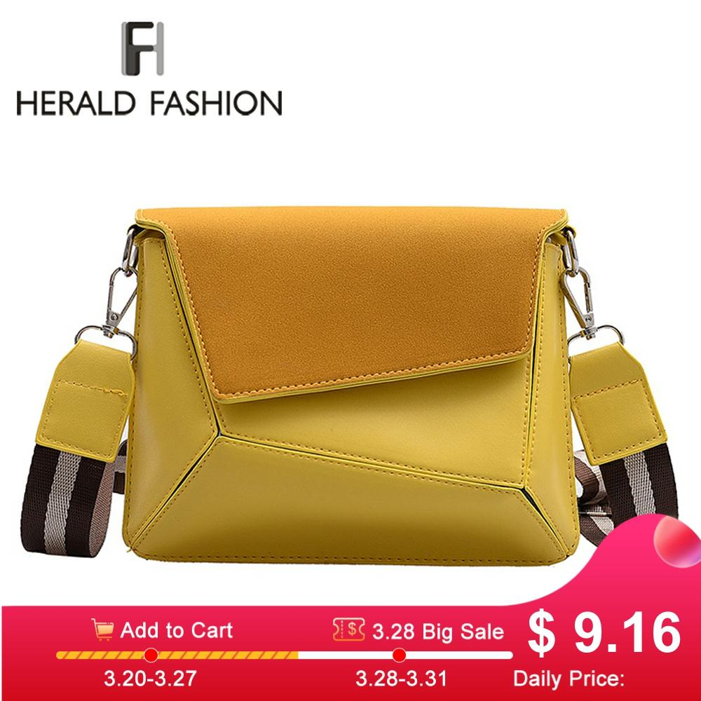 Retro Suede Patchwork Crossbody Bags For Women Messenger Bags Lady Small Flap Shoulder Bag Design Female Travel Handbag 2020