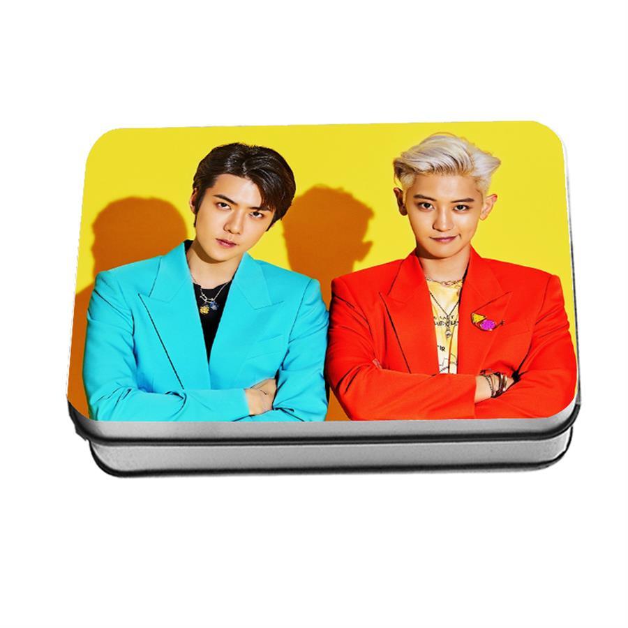 Kpop EXO SC What A Life Polaroid Lomo Photo Card Chanyeol Baekhyun Photocard 40pcs