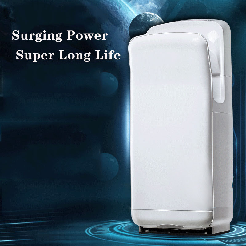 Double Sided High Speed And High Efficiency Automatic Induction Multiple Protection Toilet Commercial Hand Dryer
