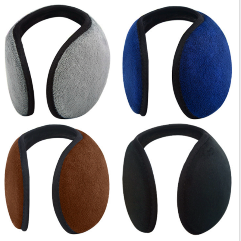 1PC Earwarmers Ear Muffs Earlap Warm Winter Unisex Women Fleece Wrmer Earmuff  Plush Cloth Ear Muffs Cover  Winter Accessories