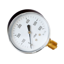 0-600mbar  Radial Pressure Gauge Accurate Measurements High Accuracy Pointer Low Measuring Tool manometer