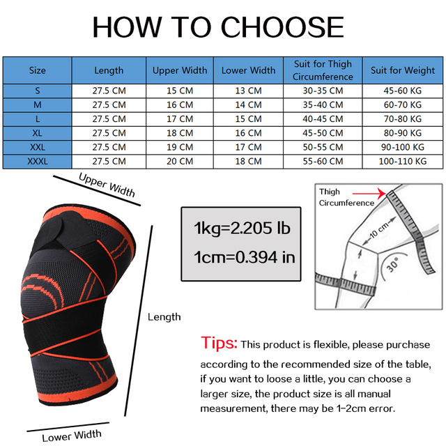 Heyfitae™ Full Compression Knee Support With Strap 6
