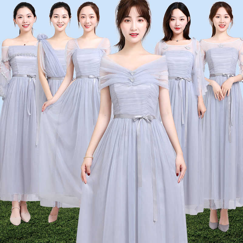 Dress Purple Brides Maid Dresses