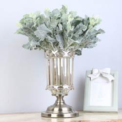 Модель маленький лист Yinqiao модель Senecio цветок пепельника композиция аксессуары имитация цветов искусственная зеленая растительность Fl