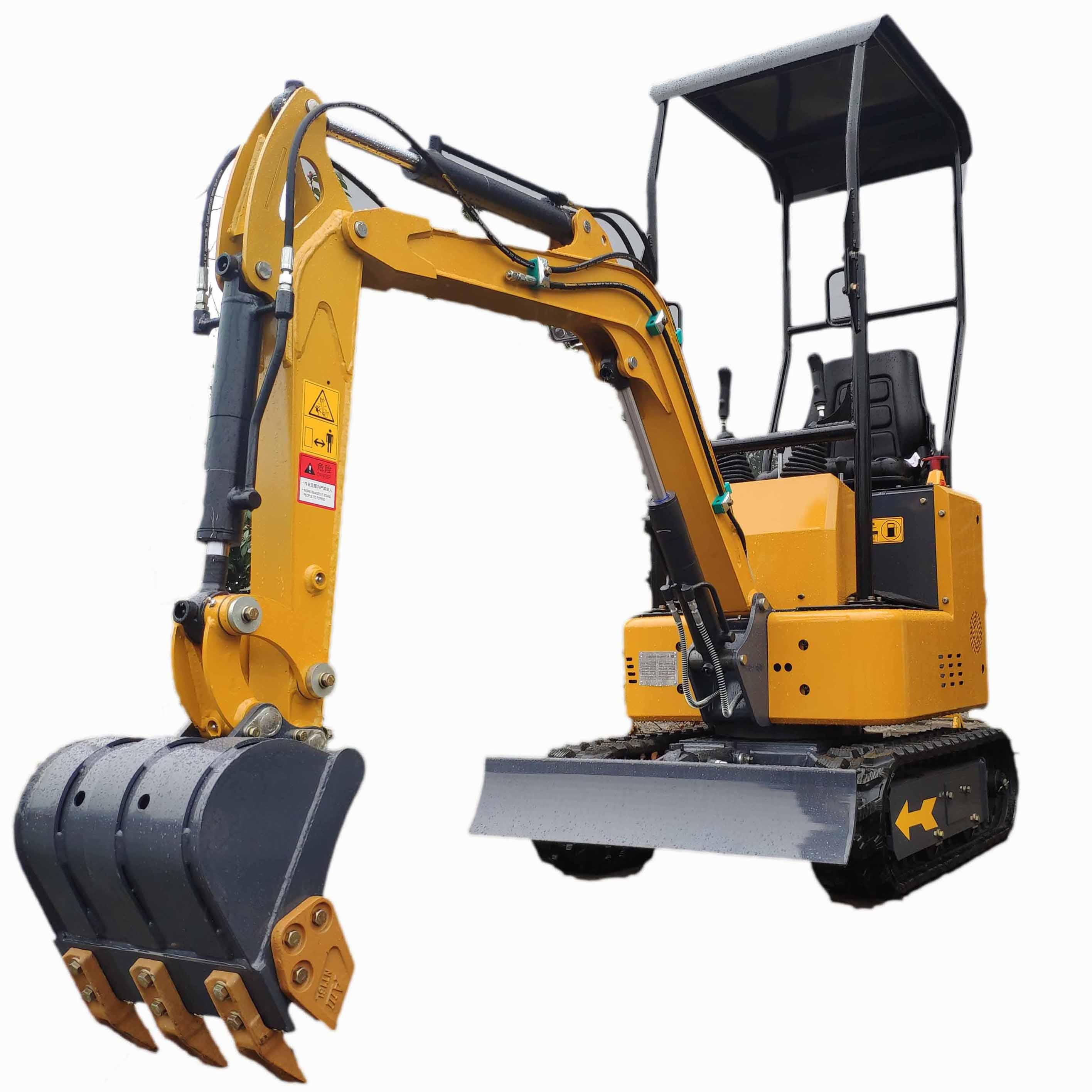 Excavator With Digging Machine Hydraulic Crawler