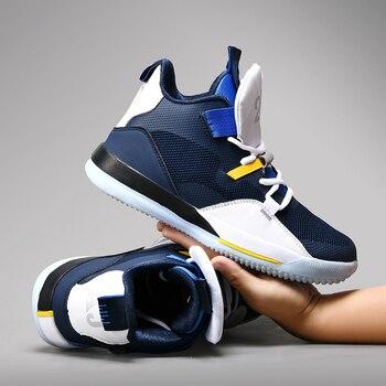 ¡Novedad de 2019! Zapatos Jordan de alta calidad de durabilidad, Zapatillas de baloncesto Retro para Hombre, Zapatillas de baloncesto transpirables para Hombre