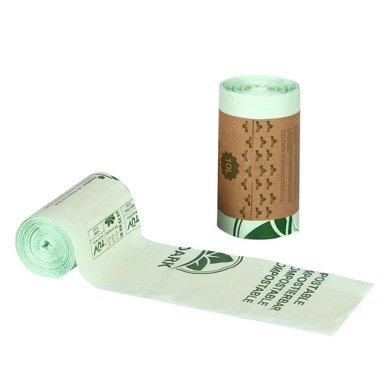25/50 кухонные биоразлагаемые мешки, биоразлагаемые мешки для мусора, биоразлагаемые мешки для мусора с защитой окружающей среды