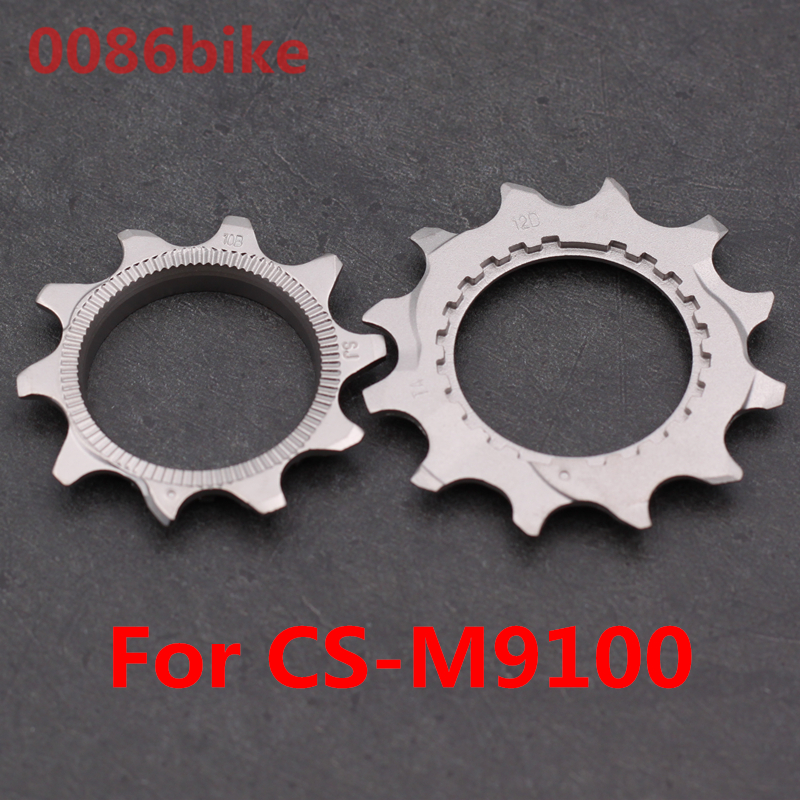 Горный велосипед M9100 12 S Кассета звездочки CS-M9100 12 Скоростей маховик запасные част стопорное кольцо цепное колесо