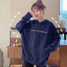 plus size women hoodie korean street style women's hoodies streetwear oversized hoodie Casual cropped hoodie sweatshirt clothes