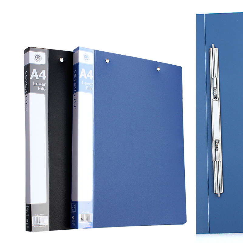 Single Spring Clip Office Supplies Single Spring Folder A4 Single Clip Double Clip Double Hole Clip Single Snake Clip