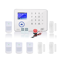 wireless keypad Wireless WIFI Camera GSM WCDMA Home security alarm system BL 6600 can work with ip camera