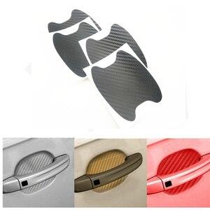 4 ручки двери автомобиля защитная пленка 3D стикер автомобиля для Kia Rio 3 4 K2 K3 K5 K4 Cerato,Soul,Forte,Sportage R,SORENTO,Mohave,OPTIMA
