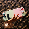 Mod-X for Nintendo Switch Case NS Console Protective Hard Case Shell for NintendoSwitch JoyCon Joy Con Mix Colorful Pink Cover promo
