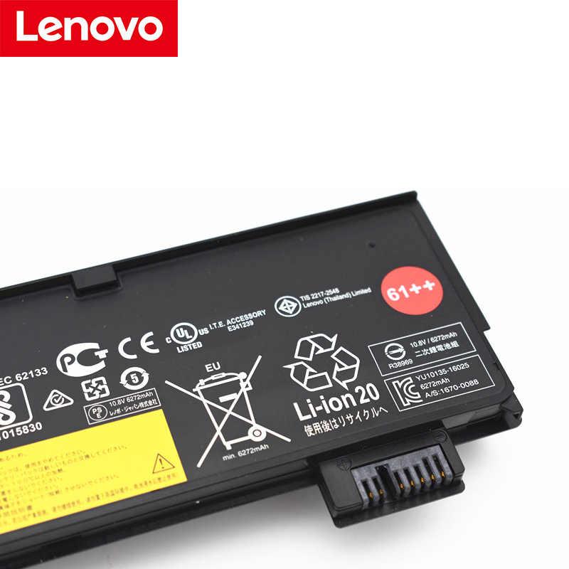 Originale Ultra ad alta capacità 6600mAh 61 + + Batteria Del Computer Portatile Per Lenovo ThinkPad T470 T480 T570 T580 P51S P52S 01AV423 01AV424