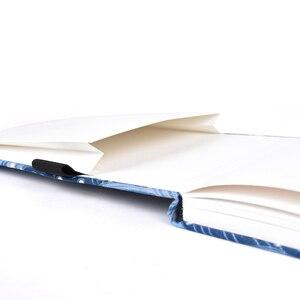 Image 3 - Cahier de marqueurs à laquarelle vierge, carnet de croquis, papier de dessin professionnel, Journal dart, bloc notes Portable, bande élastique, 40 feuilles de CC