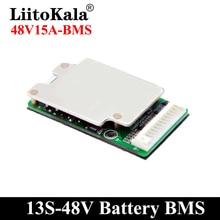 LiitoKala – batterie Li ion Lithium 18650 13S 15a 30a, 48V, pour vélo électrique, BMS, PCB, PCM, Balance, circuit intégré