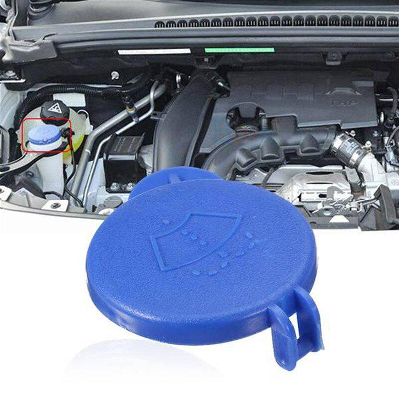 Car Windshield Washer Bottle Cap Car Cleaning Mouth Cover For 2001-2008 Ford Fiesta MK6 EM: 1482251