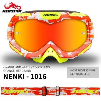 Gafas de Motocross NENKI, gafas de Moto de carreras para hombres y mujeres, gafas de Motocross, gafas de Moto todoterreno, gafas de Moto de cross BMX MTB
