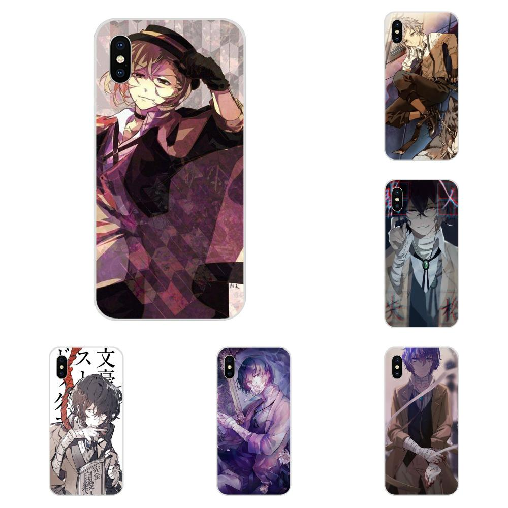 TPU New Style For Huawei <font><b>Honor</b></font> 4C 5A 5C 5X 6 6A 6X 7 7A 7C 7X <font><b>8</b></font> 8C 8S 9 10 10i 20 20i Lite Pro Japanese <font><b>Anime</b></font> Bungou Stray Dogs image
