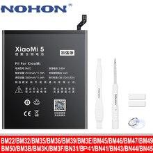 Аккумулятор NOHON для Xiaomi MI Redmi Note, батарея NOHON BM47 BP41 BM46 BN43 BN41 BN31 BM36 BM39 BM22 BM3E BM35 BM45 BM49 BM50 BM3F BM3B BN45 BN44