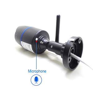 Image 2 - HD 5MP Wifi IP Kamera ONVIF 1080P Drahtlose Verdrahtete CCTV Kugel Kamera Außen Mic Audio TF Karte Slot P2P onvif JIENUO