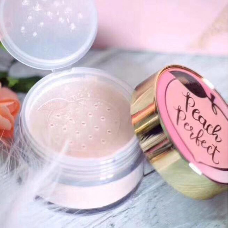 Face Concealer Peaches Perfect Mattifying Setting Powder Loose Setting Powder Infused With Cream 35g 1.23 Oz.