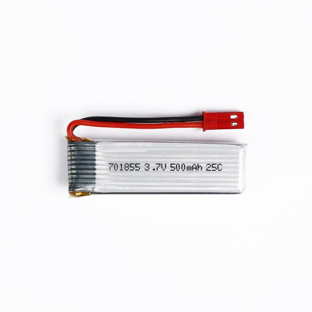 1 pc <font><b>3.7V</b></font> <font><b>500mAh</b></font> 25C <font><b>Lipo</b></font> <font><b>Battery</b></font> Model 701855 with JST Plug for FPV RC Exquisitely Designed Durable image