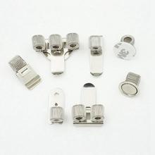 1 шт. одноместный/двухместный/тройной отверстие металлическая пружина для ручек держатель с зажимом для кармана врач-медсестра форма подставка для ручек
