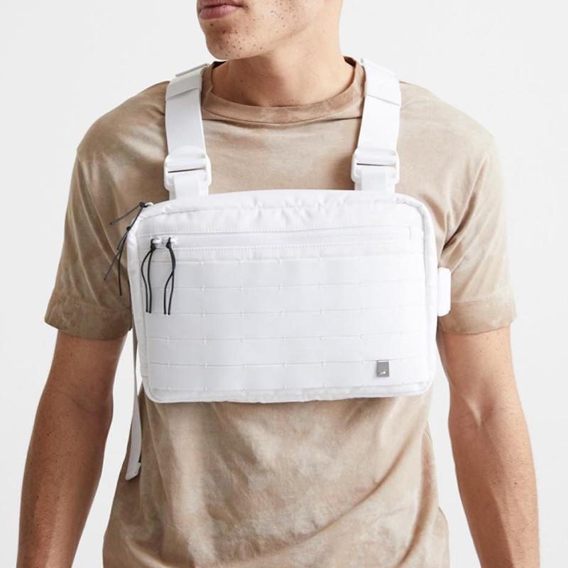 2019 Tactical Chest Rig Bag Hip Hop Streetwear Functional Tactical Vest Chest Bag Cross Shoulder Bags Bolso Kanye West
