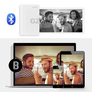 Image 3 - Paperang C1 Max 112mm Mini Tasche Foto Thermische Drucker Tragbare Thermische Bluetooth Drucker Für Mobile Android iOS Telefon Windows