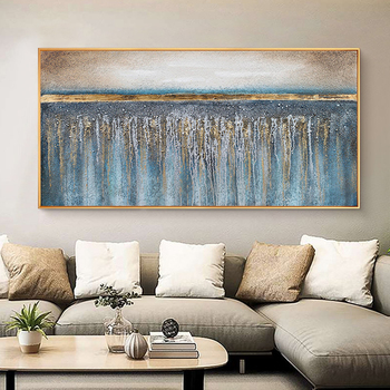 Oil Painting By Handpainted Modern Abstract Canvas Painting Wall Art Pictures For Living Room Home Decor Gift Frameless