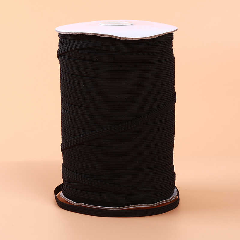 フラットスリーブ縫製弾性バンドマスク高弾性フラットゴムバンドベルト diy マスク縫製ロープ