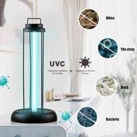 UV Light Sterilizer 38W 60W UVC Ozone Germicidal Lamp Ultraviolet Disinfection Lamp Bulb Home Sterilizer Lamp