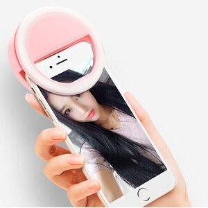 Image 4 - Rovtop USB LED Selfie Ring LightสำหรับIphoneเสริมแสงSelfieเติมแสงสำหรับโทรศัพท์