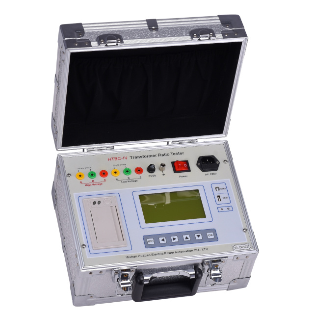 Portable Transformer Turn Ratio Meter Turns Ratio TTR Test Equipment