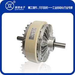 10kg Biaxial Magnetic Powder Clutch GXFL-A-100 Tension Control of Slitting Printing Winder