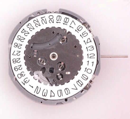 Akurasi Tinggi Kuarsa Chronograph Jam Gerakan Pergelangan Tangan Pengganti untuk VK Seri VK63A VK63 Menonton H3 Kalender Tunggal