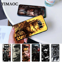 Metal Gear 5 Game High Quality Silicone Case for Samsung S6 Edge S7 S8 Plus S9 S10 S10e Note 8 9 10 M10 M20 M30