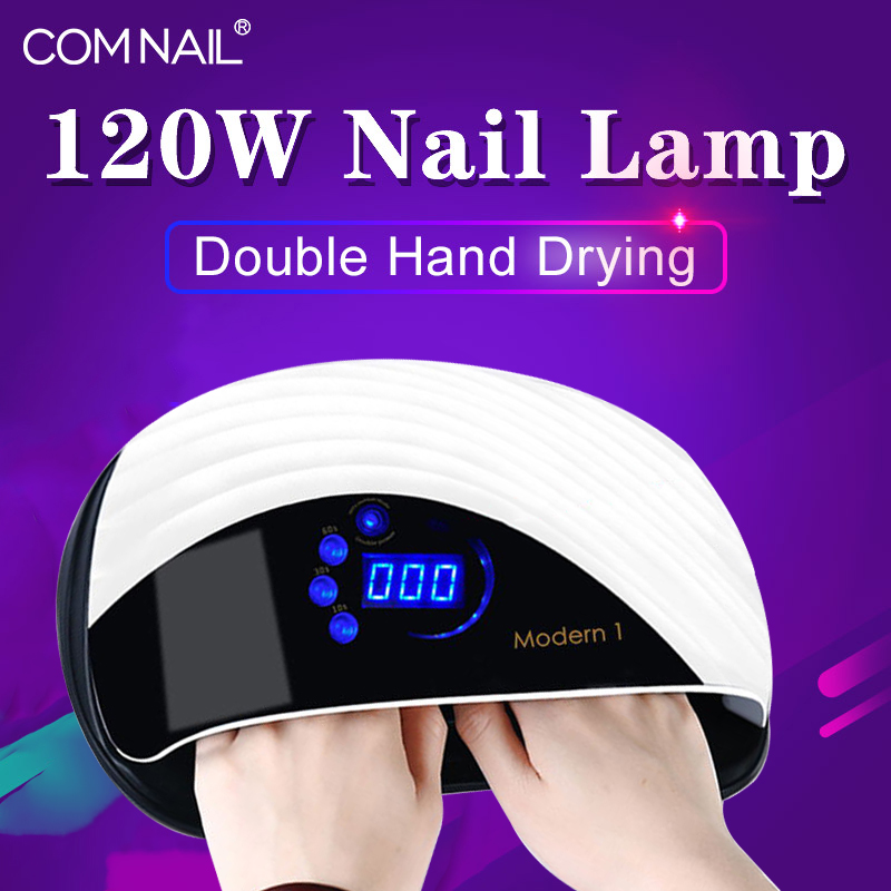 Professional Salon Use LED Nail Dryer For Fast Drying 3 In 1 Non-Harmful UV LED Sensor Gel Dryer Built In Fan Nail Lamp