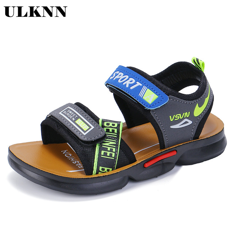 ULKNN Summer Kids Sandals For For Children Shoes Boys Sandalia Girls Shoes Beach Quick-drying Open-toe Sandalia Infantil 2020